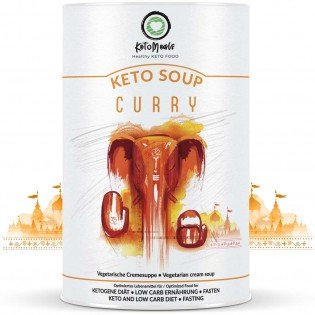 KetoMeals Keto Soup Curry Ketogene Diät Suppe Produkte Shop